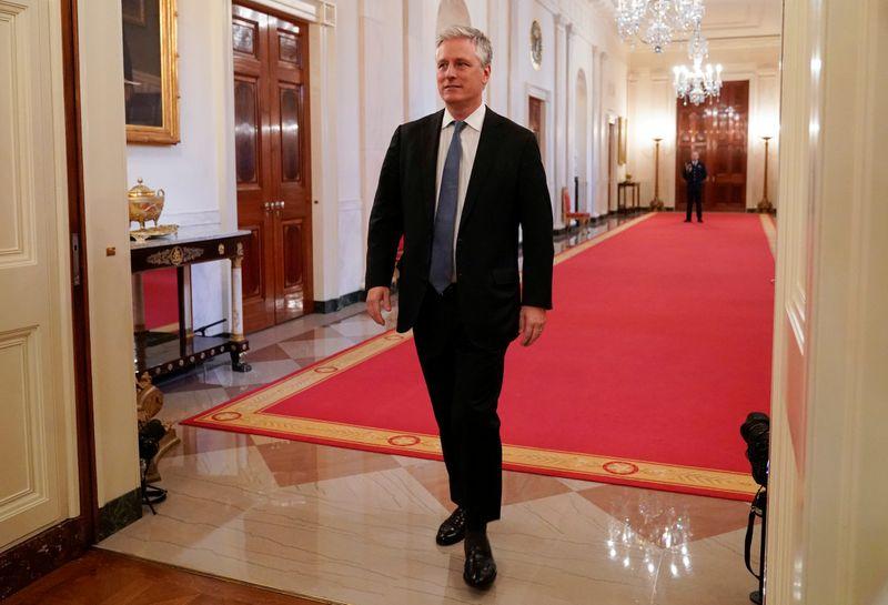 U.S. national security adviser denies Russia boosting Trump...