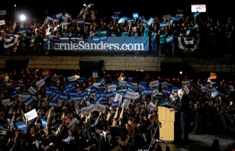 Bernie Sanders logra un triunfo decisivo en Nevada de cara a las elecciones de EEUU