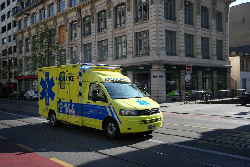 © Reuters. Coronavirus disease (COVID-19) outbreak in Geneva