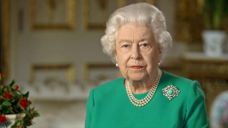 © Reuters. Britain's Queen Elizabeth's speech