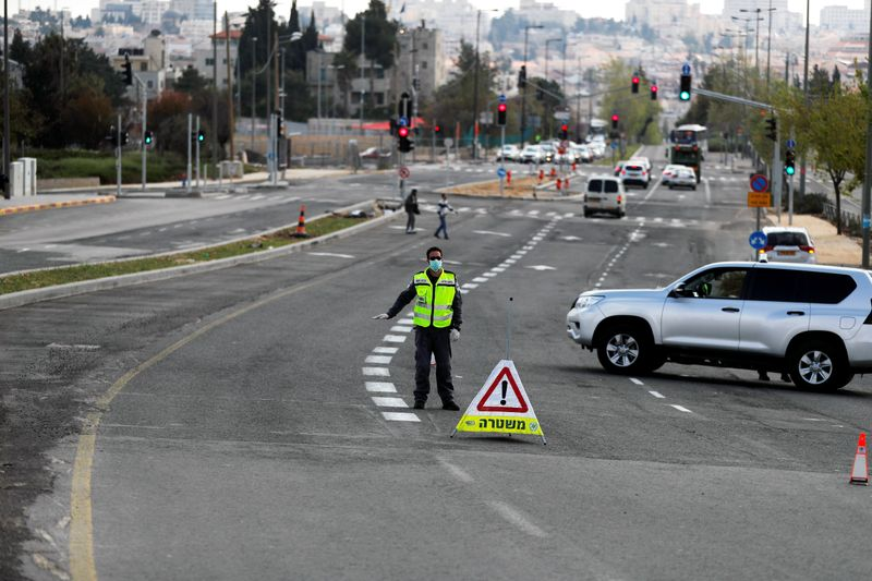 Israel closes off Jerusalem's ultra-Orthodox areas to stem coronavirus spread