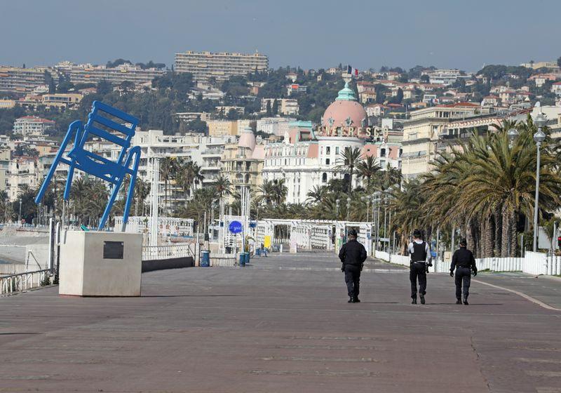 © Reuters. Coronavirus disease (COVID-19) outbreak in Nice