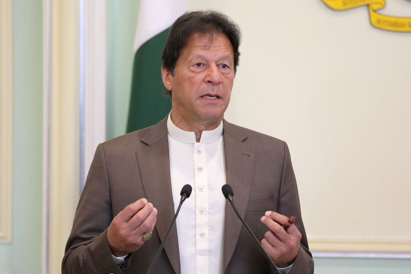Pakistani prime minister appeals for debt relief to combat coronavirus fallout
