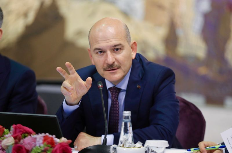 Turkey's interior minister says resigns over short-notice coronavirus curfew