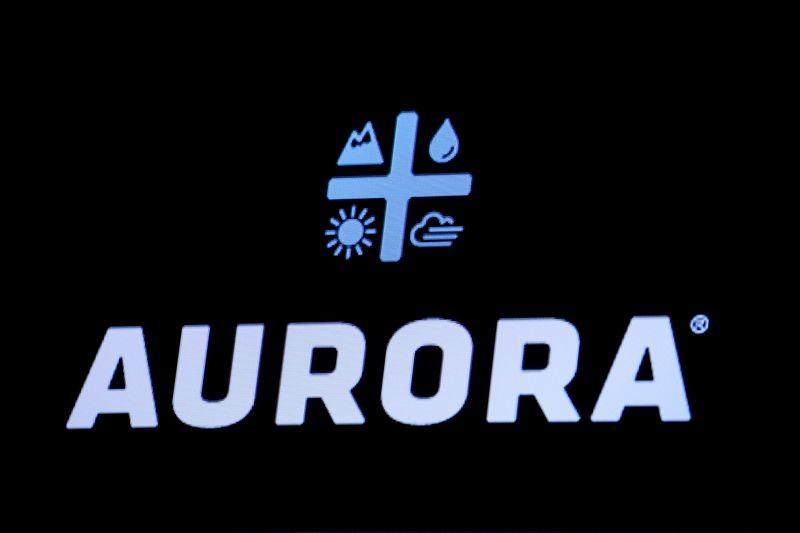 Aurora Cannabis falls on capital raise, reverse stock split