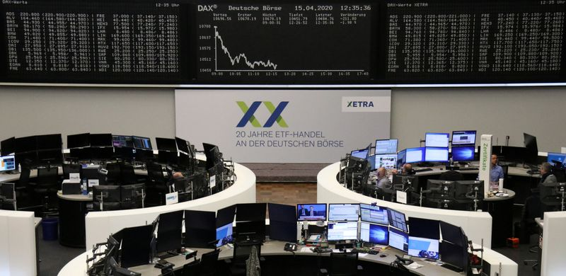 European shares bounce as airlines pitch recovery