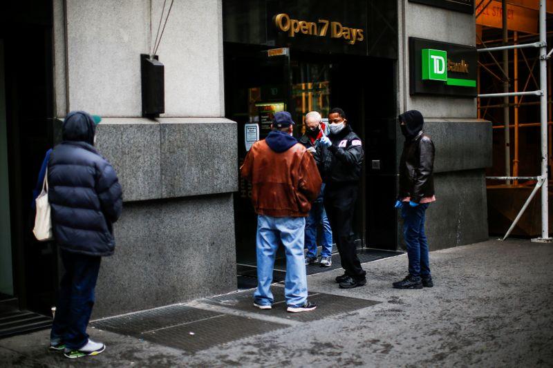 © Reuters. The outbreak of the coronavirus disease (COVID-19) in New York