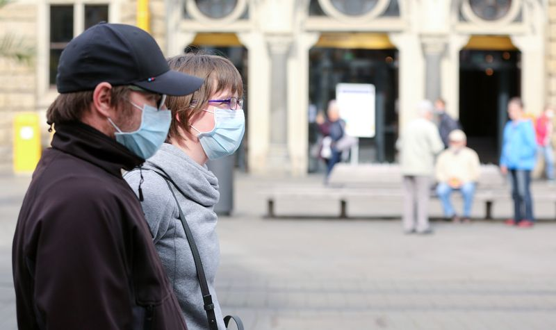 © Reuters. FILE PHOTO:  The spread of the coronavirus disease (COVID-19) in Germany