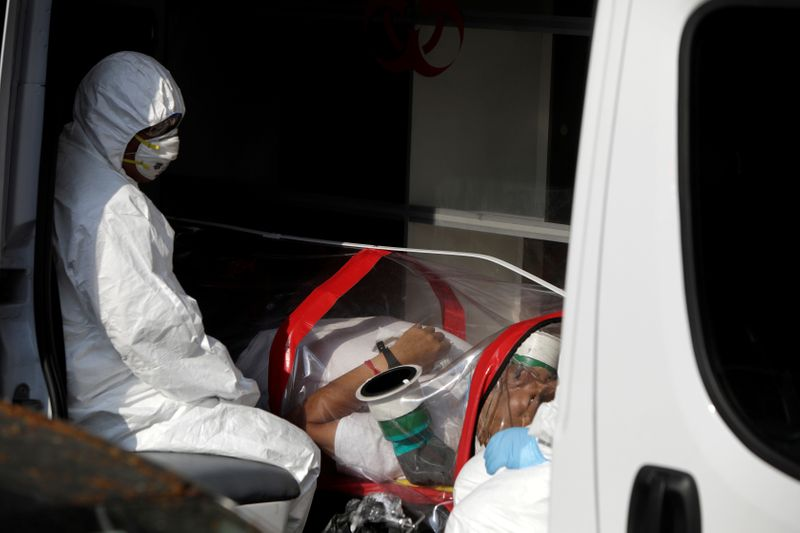 © Reuters. Outbreak of the coronavirus disease (COVID-19), in Mexico City