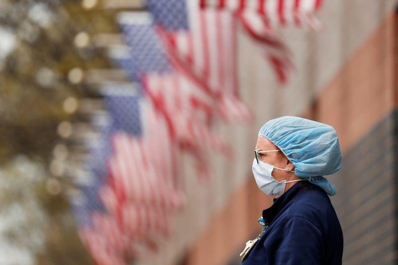 © Reuters. Coronavirus disease (COVID-19) outbreak, in New York