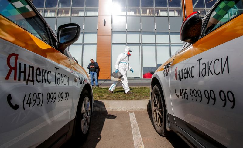 Russia's Yandex.Taxi targets continued profitability even as rides plummet