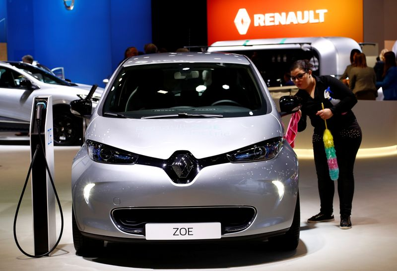 Renault's first half vehicle sales down 34.9%, ZOE electric model shines