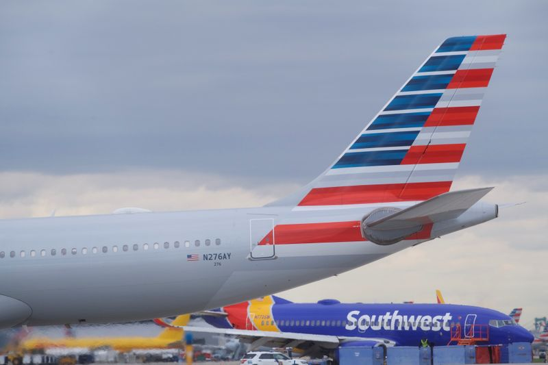 American and Southwest rethink summer flight adds as demand stalls
