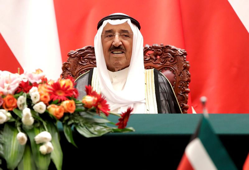 Kuwait's emir arrives in the U.S. for medical treatment and is in a stable condition: KUNA