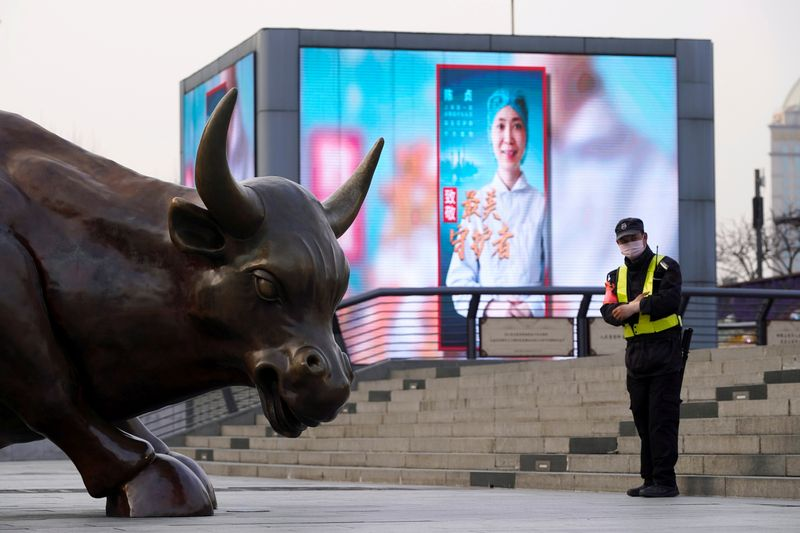 World shares retreat on rise in Sino-U.S. tensions