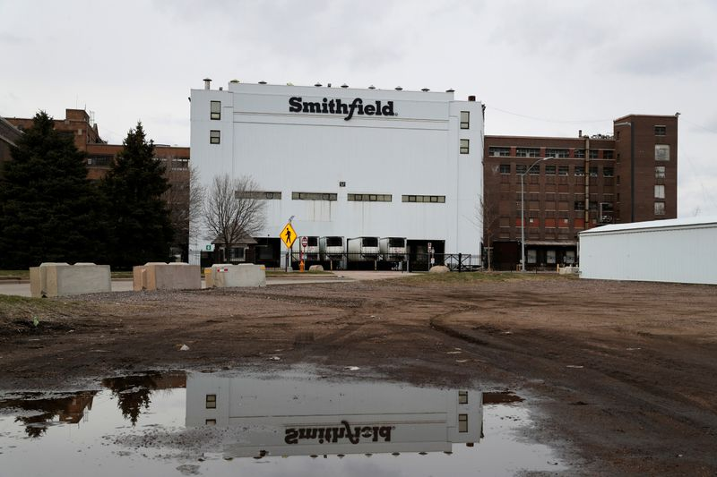 'Spread out? Where?' Smithfield says not all plant workers can be socially distanced
