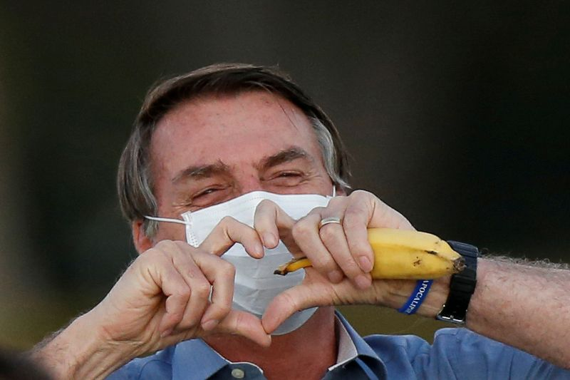 Brazil's Bolsonaro says new COVID-19 test came back negative By Reuters