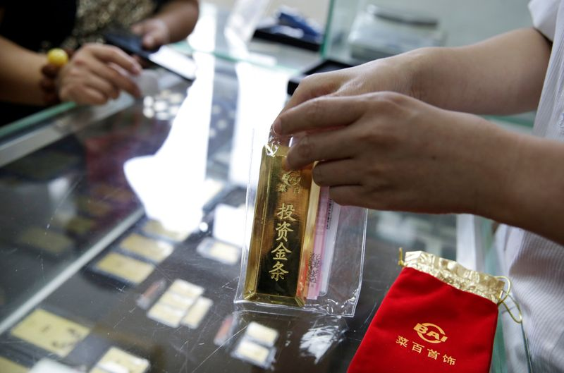 中国当局と銀行、「金爆買い」抑制へ 取引口座新設を禁止