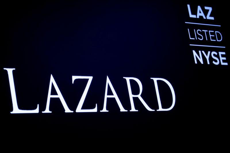 Lazard second-quarter earnings fall amid COVID-19 slump in dealmaking