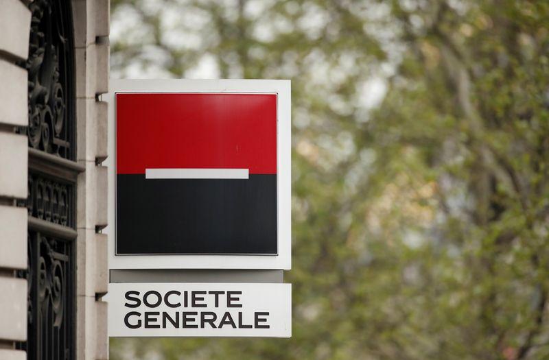 © Reuters. SOCGEN VA S'ATTELER AU PLAN STRATÉGIQUE APRÈS LE REMANIEMENT, ANNONCE SON DIRECTEUR GÉNÉRAL
