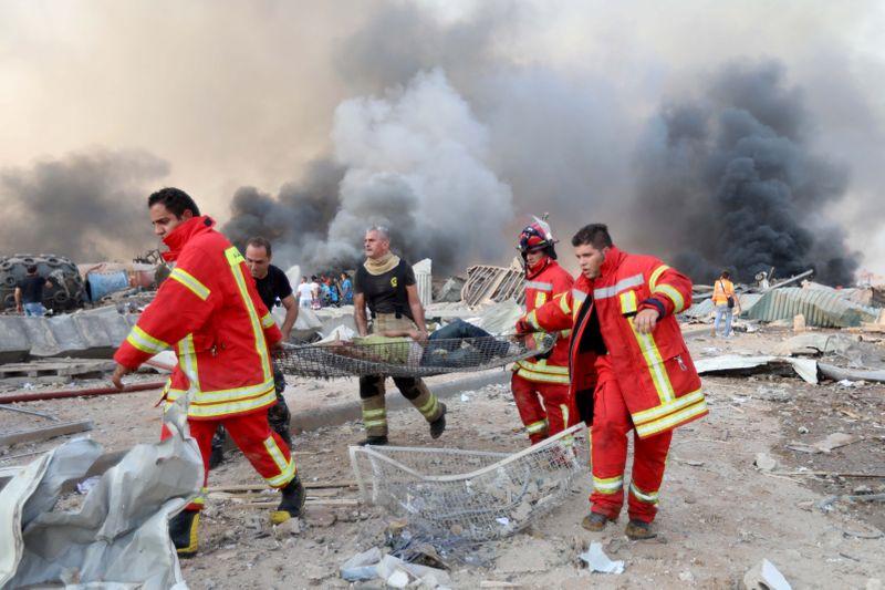 Número de mortos por explosão em Beirute sobe para mais de 50, diz ...