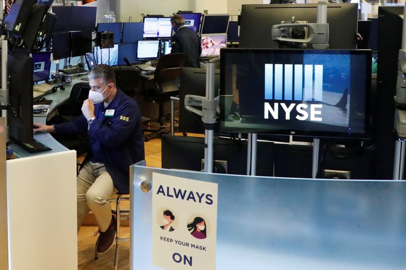 Wall Street opens higher on Disney boost, healthcare earnings