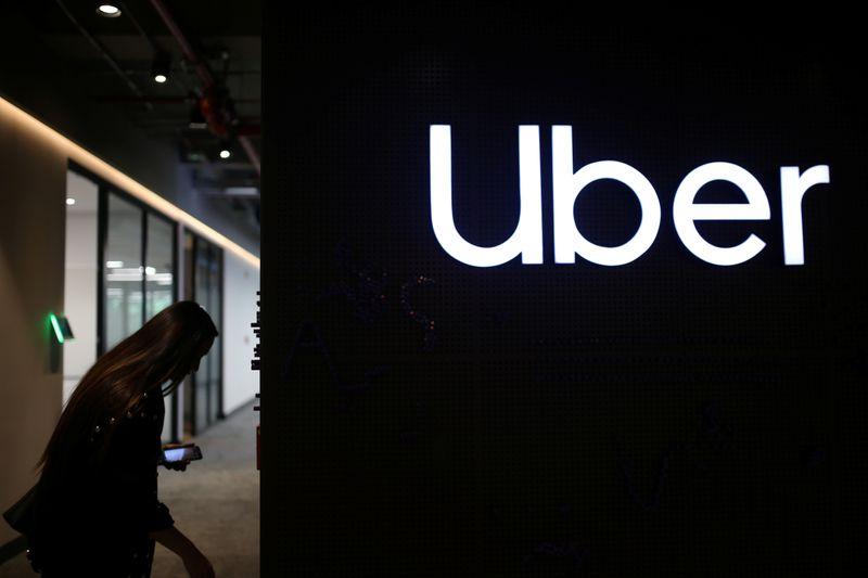 © Reuters. UBER TECHNOLOGIES EST À SUIVRE À WALL STREET