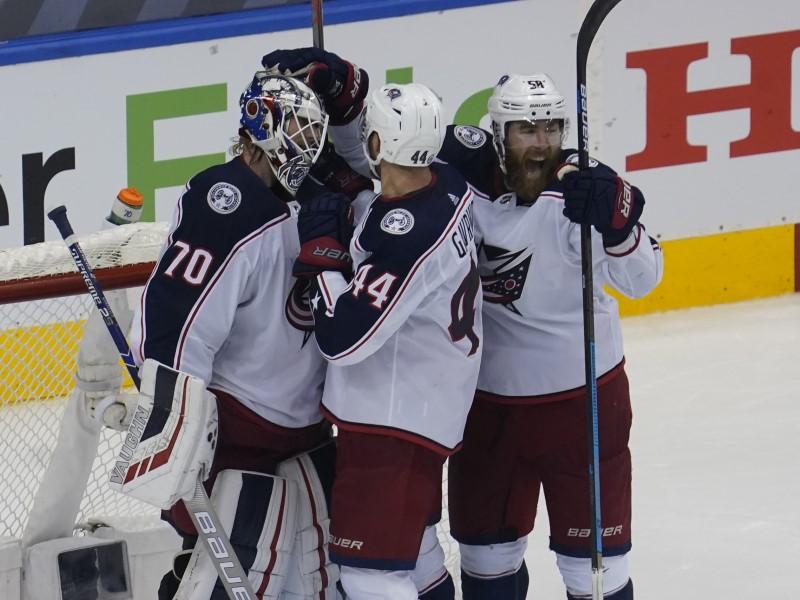 © Reuters. NHL: Calificaciones de la Conferencia Este - Columbus Blue Jackets en Toronto Maple Leafs