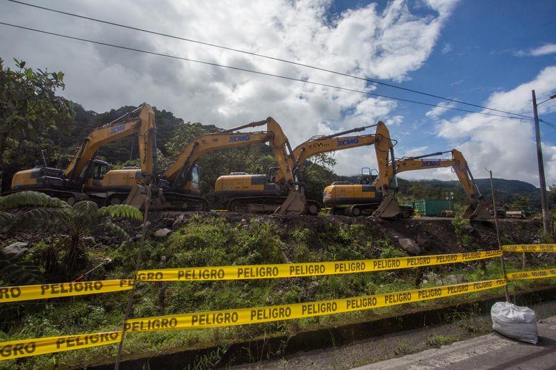 © Reuters. DES BANQUES EUROPÉENNES SOMMÉES DE NE PLUS FINANCER LE COMMERCE PÉTROLIER EN AMAZONIE