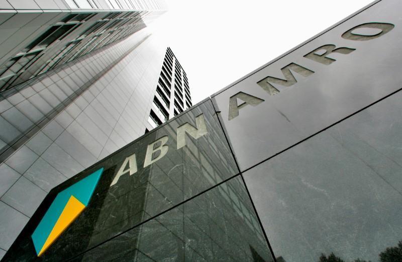 © Reuters. ABN AMRO QUITTE LE FINANCEMENT DES MATIÈRES PREMIÈRES, CAP SUR LE NORD-OUEST DE L'EUROPE