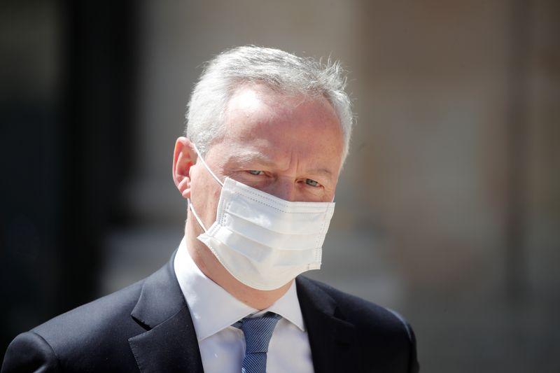 © Reuters. FRANCE: 3 MILLIARDS D'EUROS DANS LE PLAN DE RELANCE POUR L'INVESTISSEMENT DES ENTREPRISES, CONFIRME LE MAIRE