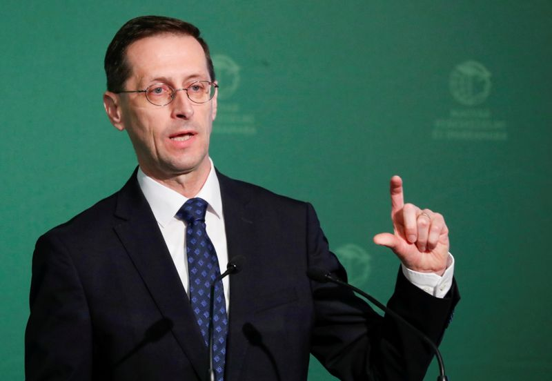 Hungary's 2021 economic rebound hinges on COVID vaccine: finance minister