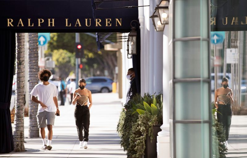 © Reuters. The outbreak of the coronavirus disease (COVID-19) in Beverly Hills