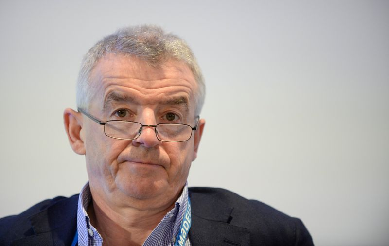 Ryanair to put UK staff on unpaid leave if furlough scheme dropped - CEO
