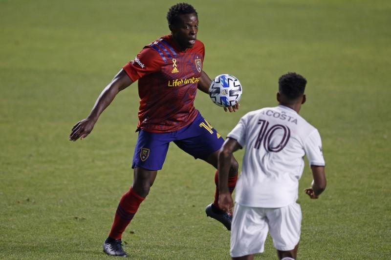 © Reuters. MLS: Colorado Rapids at Real Salt Lake