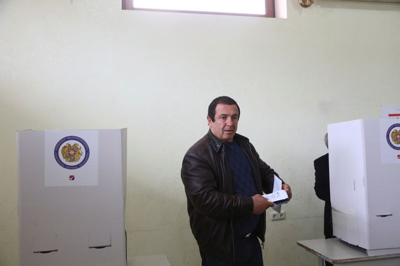 Armenia opposition leader detained on vote-buying allegations