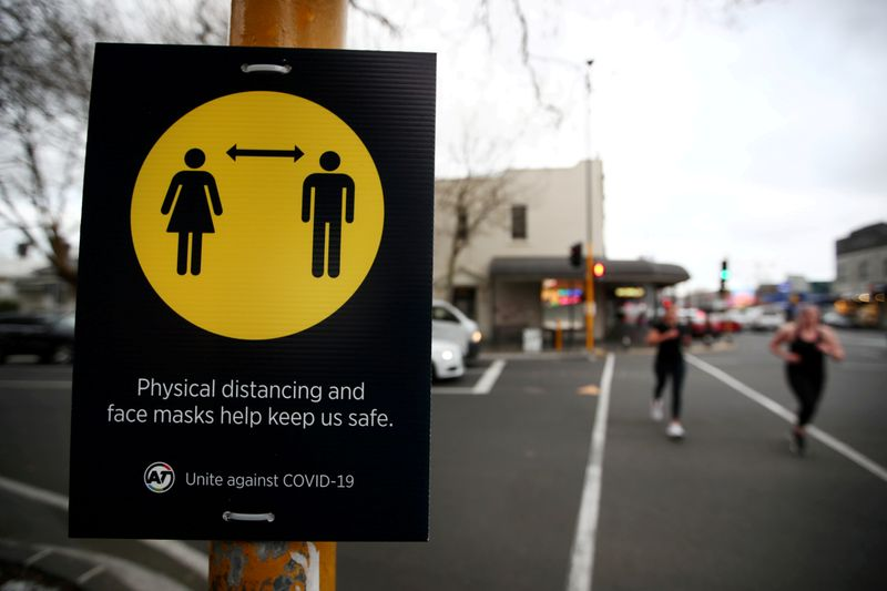 New Zealand's Auckland starts second lockdown in month