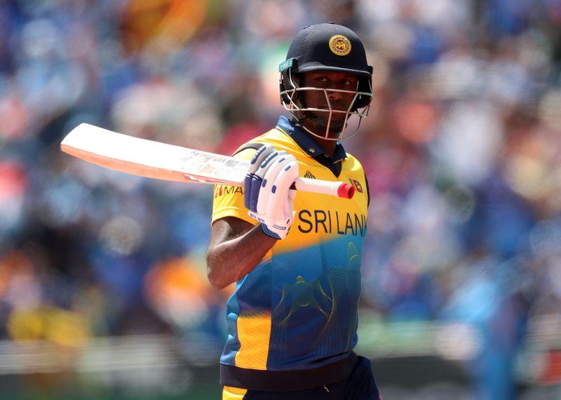 Cricket-Mathews to captain Sri Lanka in T20s as visa issue grounds Shanaka
