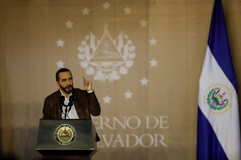El Salvador's Bukele poised for majority in mid-term votes