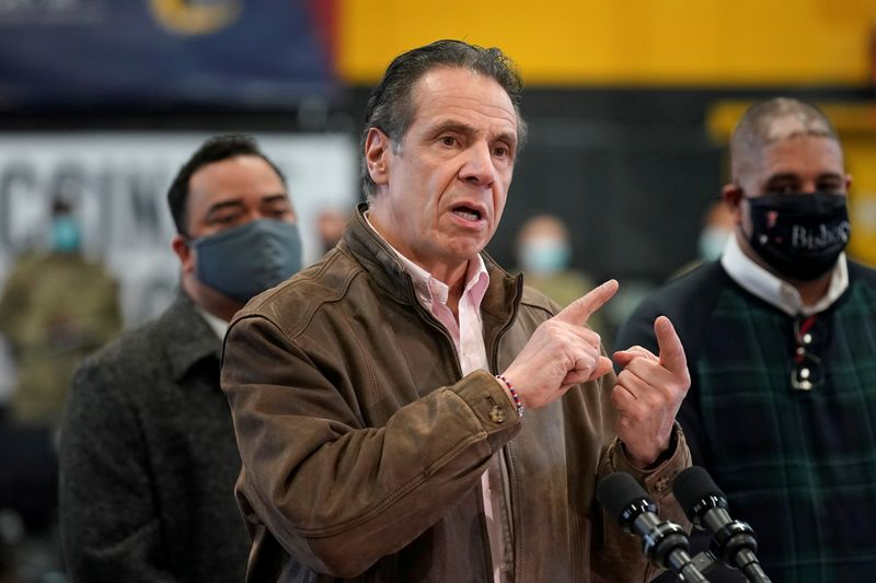 New York attorney general to oversee Cuomo sexual misconduct probe