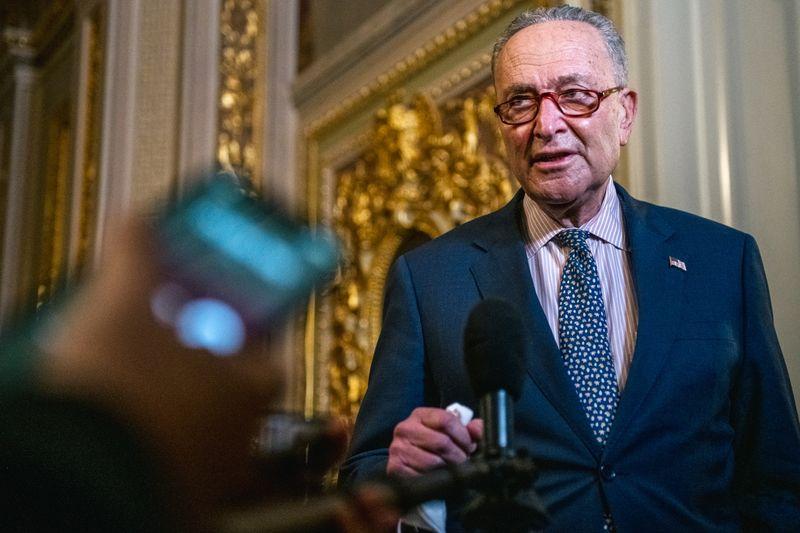 U.S. Senate to begin debating COVID-19 bill this week -Schumer