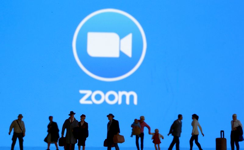 Zoom shares rise on strong current-quarter forecast, upbeat results
