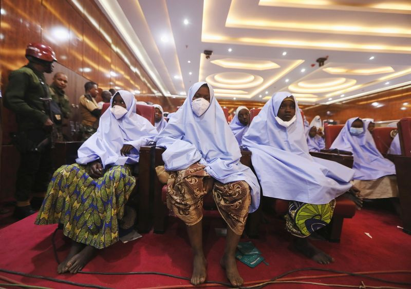 'Crying and moving': Nigerian schoolgirls recount forced march kidnap ordeal