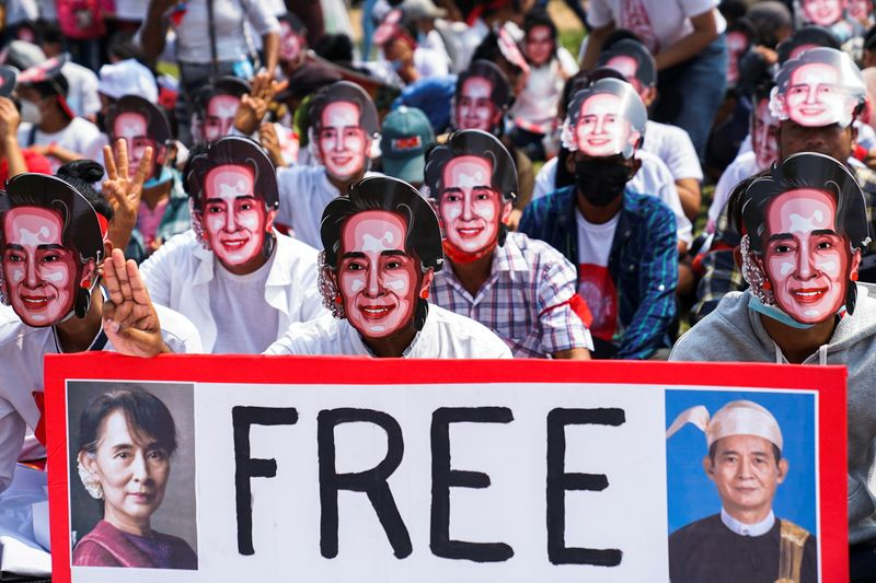 Myanmar security forces shoot dead 13 anti-coup protesters despite calls for restraint
