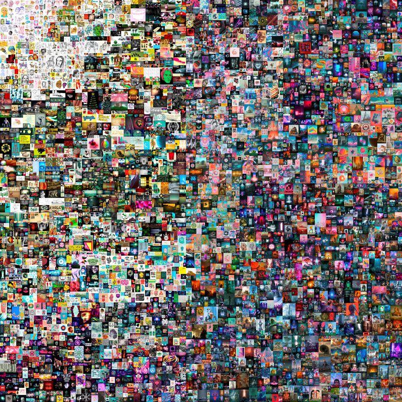 焦点:「複製不能」時代のデジタル芸術、10秒の作品が7億円に