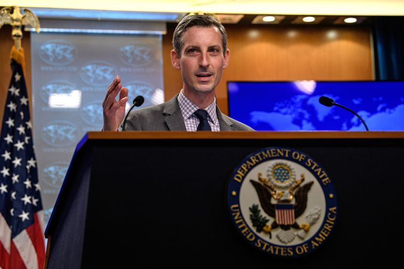 U.S. condemns China's Hong Kong moves, working to 'galvanize' action against abuses