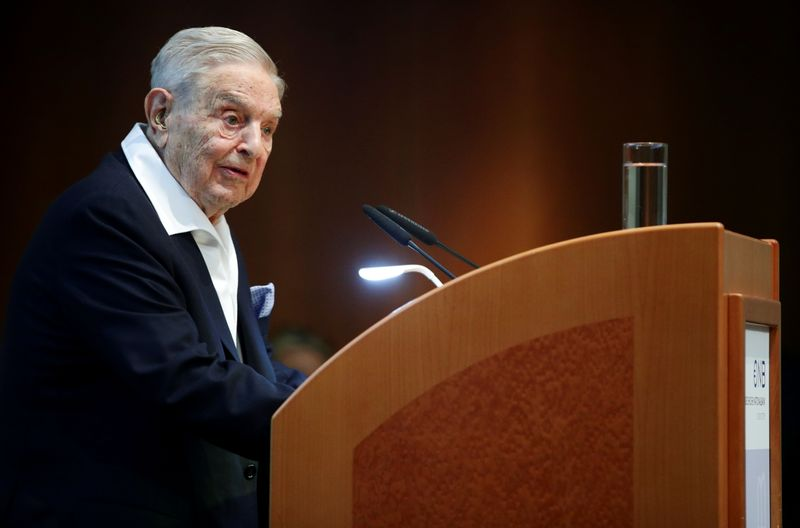 Soros buys stocks linked to Bill Hwang's Archegos collapse: Bloomberg News