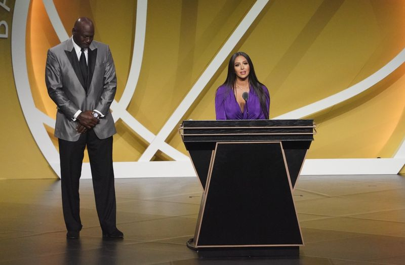 Basketball-'Dear Kobe, thank you': Lakers legend Bryant enshrined in Hall of Fame