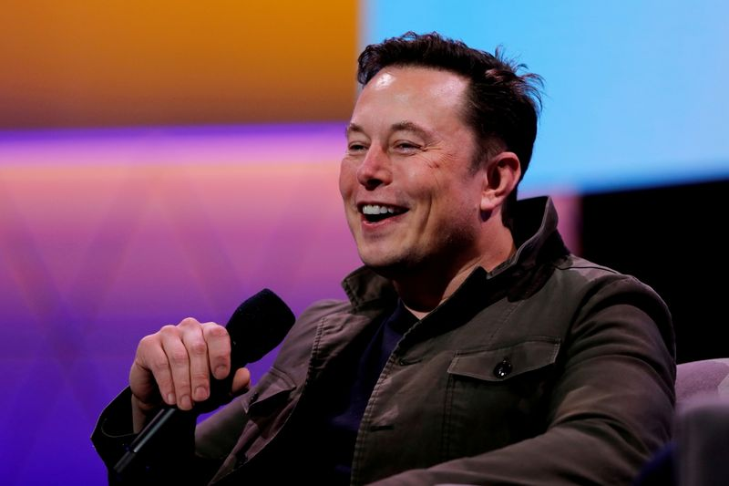 Bitcoin price lower after Musk tweet