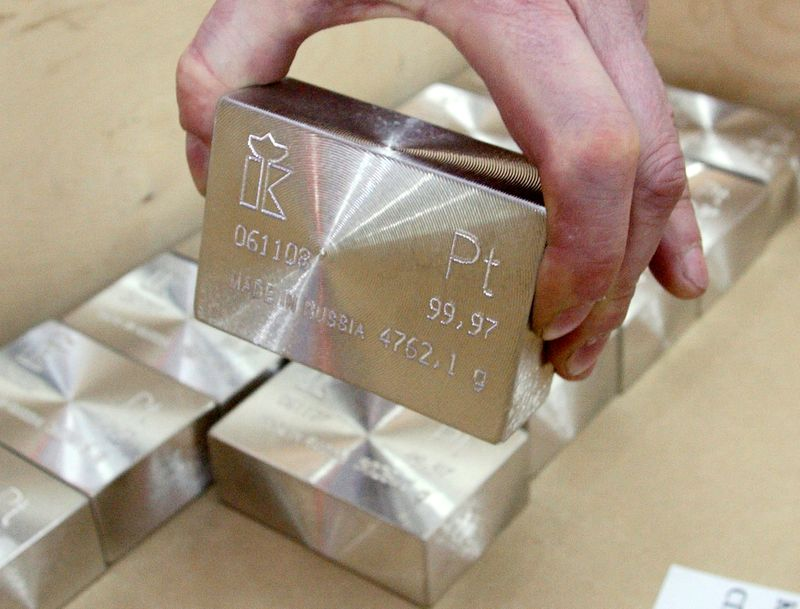 Platinum set for third year of deficit as industry demand surges, WPIC says